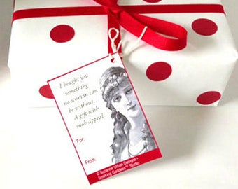 Funny Holiday Gift Tags! Unique and Snarky!