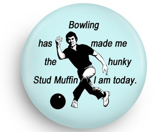 Funny Bowling Fridge Magnet Great Gift for Bowling League Friend 6d94e85d1