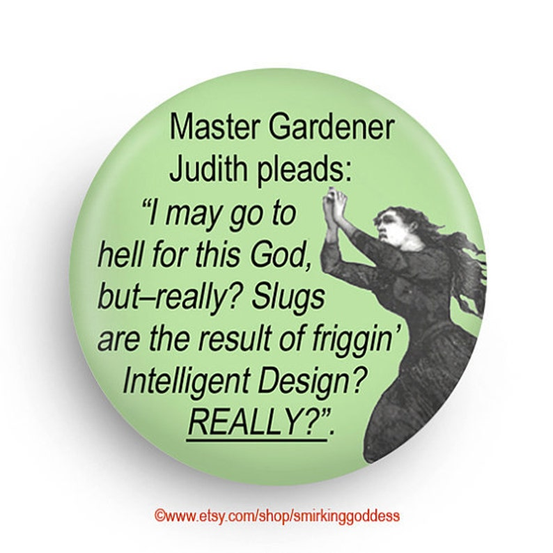 Fun Magnet for Gardeners Personalization Available image 0