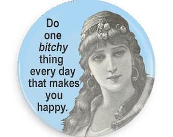 Sarcastic Magnet, Funny Fridge Magnet for Girlfriend, Gift for Co-worker