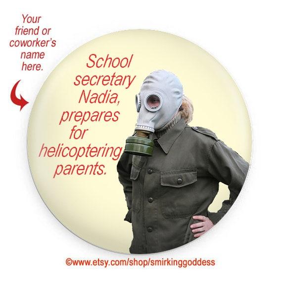 Funny Fridge Gift Magnet Funny School Secretary Gag Gift Personalized Option