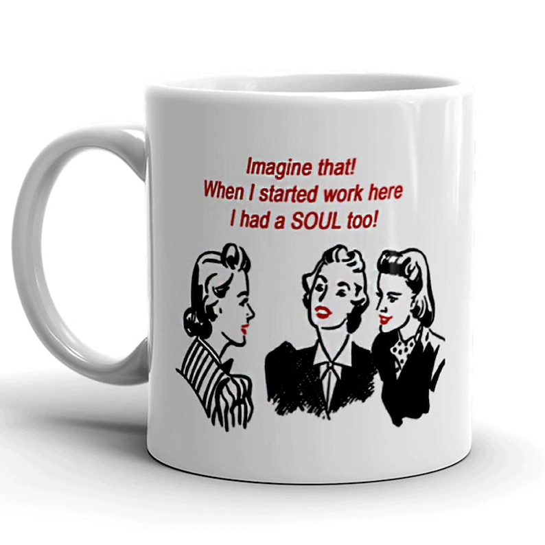 Funny Retirement Mug Fun Gift for Co-Worker image 0