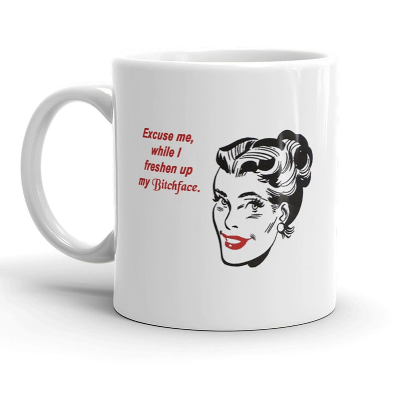 Funny Feminist Coffee Mug Great Gift for Co-Worker or Friend image 0