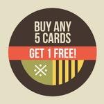 Buy 5 Get 1 FREE Greeting cards