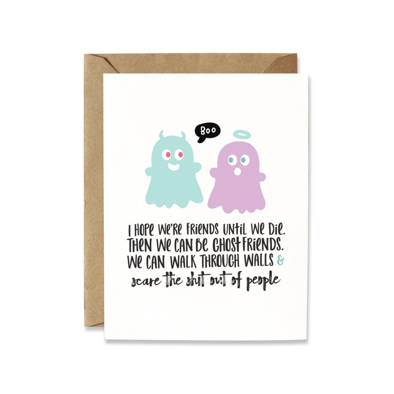 Galentines card funny friend birthday card Funny Friendship image 0