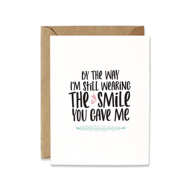 Naughty Valentine cards Anniversary card for boyfriend  Cute image 0