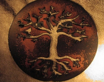 Tree of Life Metal Art -Metal Wall Decor- Suitable for Indoors or Outdoors