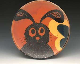 Reserved for Julie - Special Order - Rabbit - Luncheon Plate