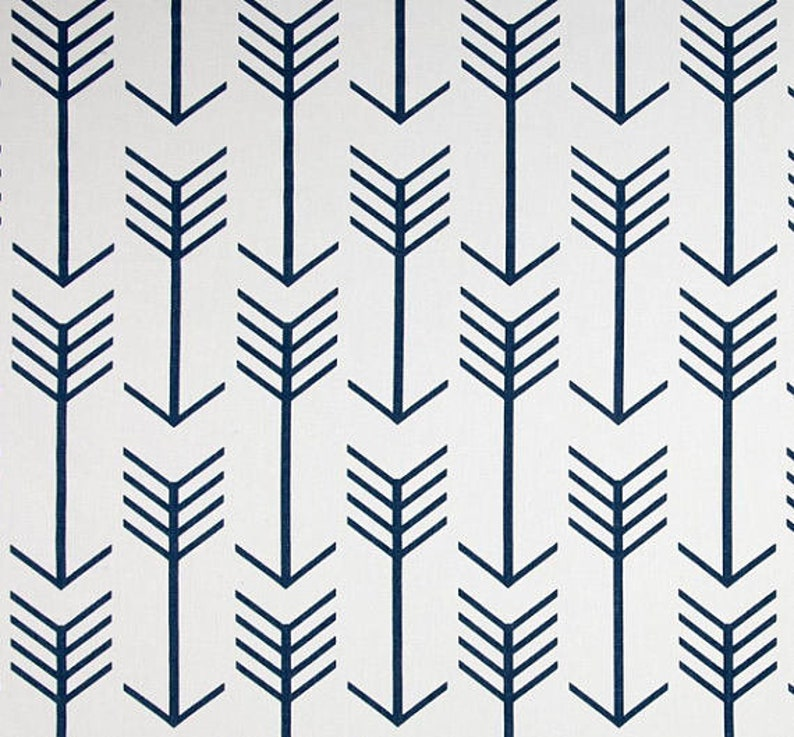 ARROWS TABLE LINENS  Table Runner Napkins  Placemats Navy image 0
