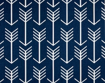 ARROWS TABLE LINENS-  Table Runner, Napkins,  Placemats, Navy Blue, Other Colors, Wedding, Bridal, Shower, Home Decor,  Linen