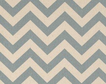 SLATE BLUE CHEVRON Linens  - Zigzag village blue and natural , Table Runner, Napkins, Placemats - Chevron Weddings Bridal