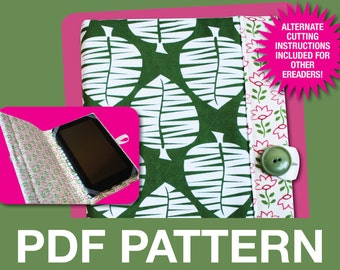 Ereader Cover Pattern - PDF Pattern - INSTANT DOWNLOAD -Kindle, Nook, Kobo, Sony, Ipad