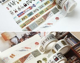Japanese Washi Masking Tape (Vintage)