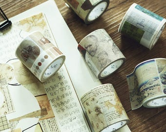 Japanese Washi Masking Tape (Artwork)