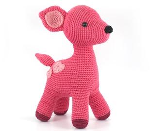 Amigurumi Pattern - Cute Deer PDF Toy Crochet pattern DIY - Tutorial Digital Download