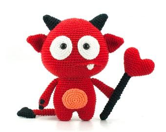 Little Love Devil Amigurumi Crochet Pattern PDF
