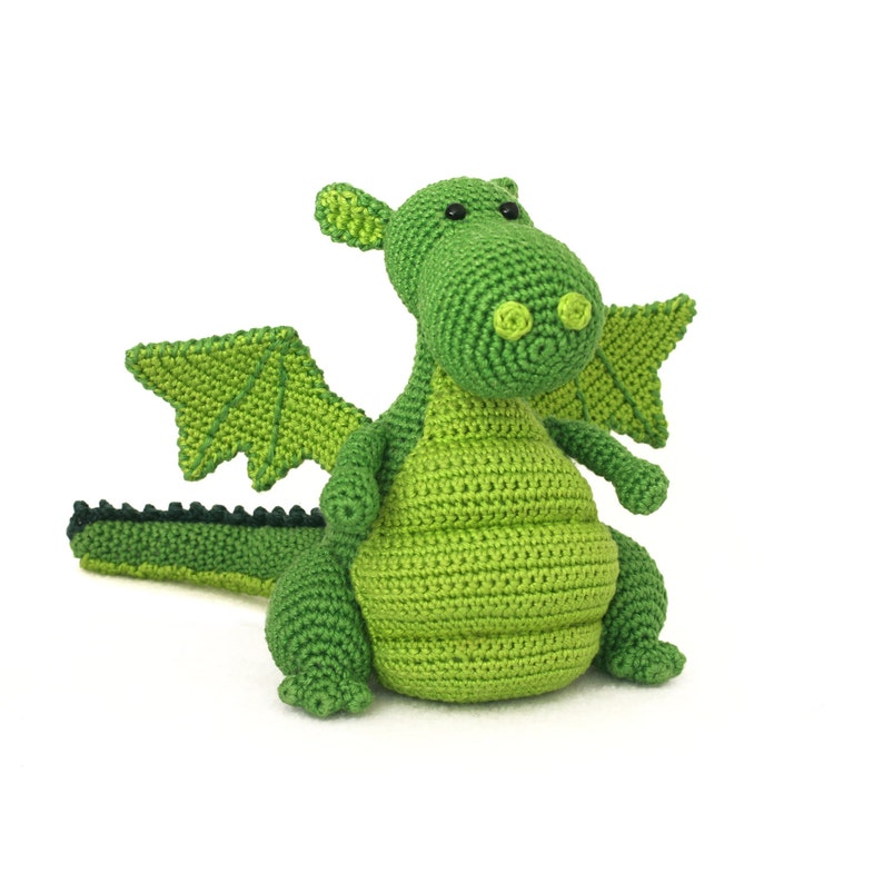 Yoki the dragon amigurumi crochet pattern image 0
