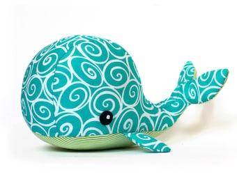 Sewing pattern Whale plush PDF