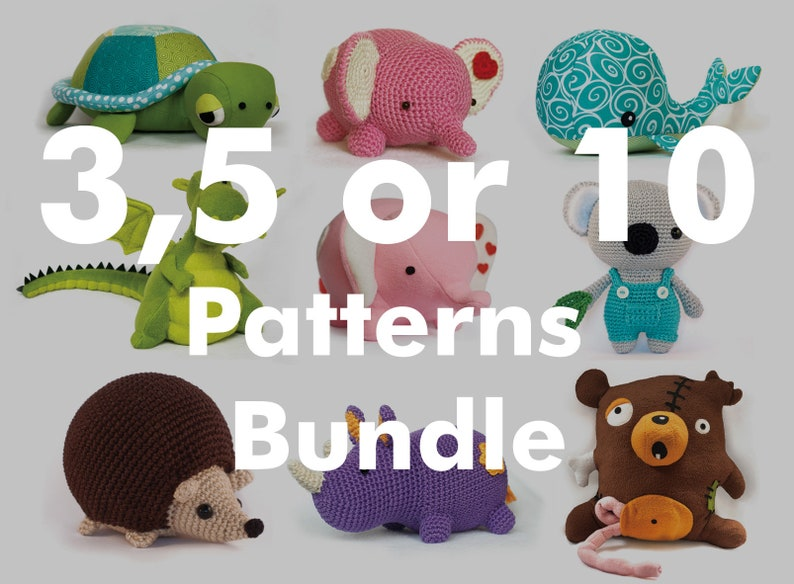 COUPON Codes for PDF 3 5 OR 10 Patterns Bundle   Please read image 0