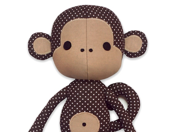 Süße Affe Puppe nähen schnittmuster PDF | Etsy