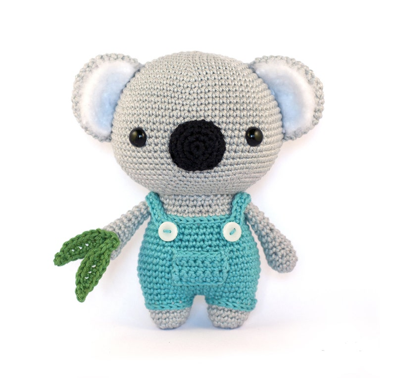 Cute Koala amigurumi crochet pattern PDF image 0