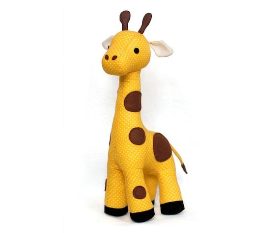 Giraffe vorlage PDF Stofftier nähen Schnittmuster | Etsy