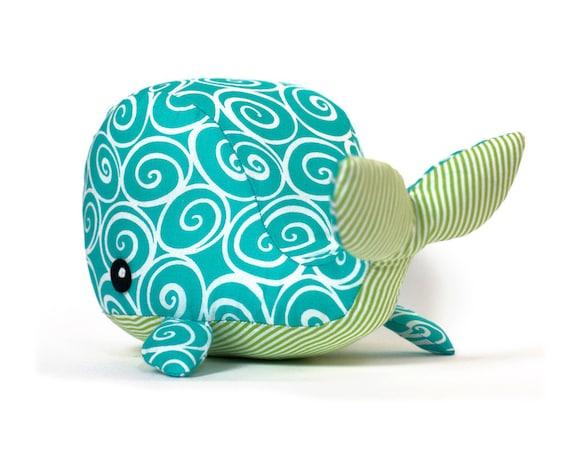 Sewing pattern Whale plush PDF   Etsy