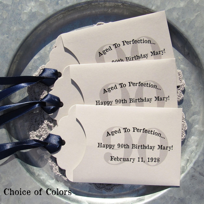 90th Birthday Favors Adult Favor Party