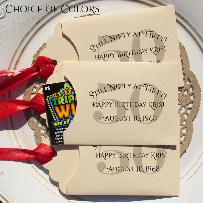 50th Birthday Favors 50th Party Favors Adult Party Favors