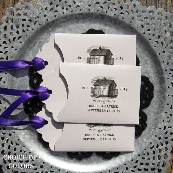 Rustic Wedding Favor Country Wedding Favors Barn Wedding