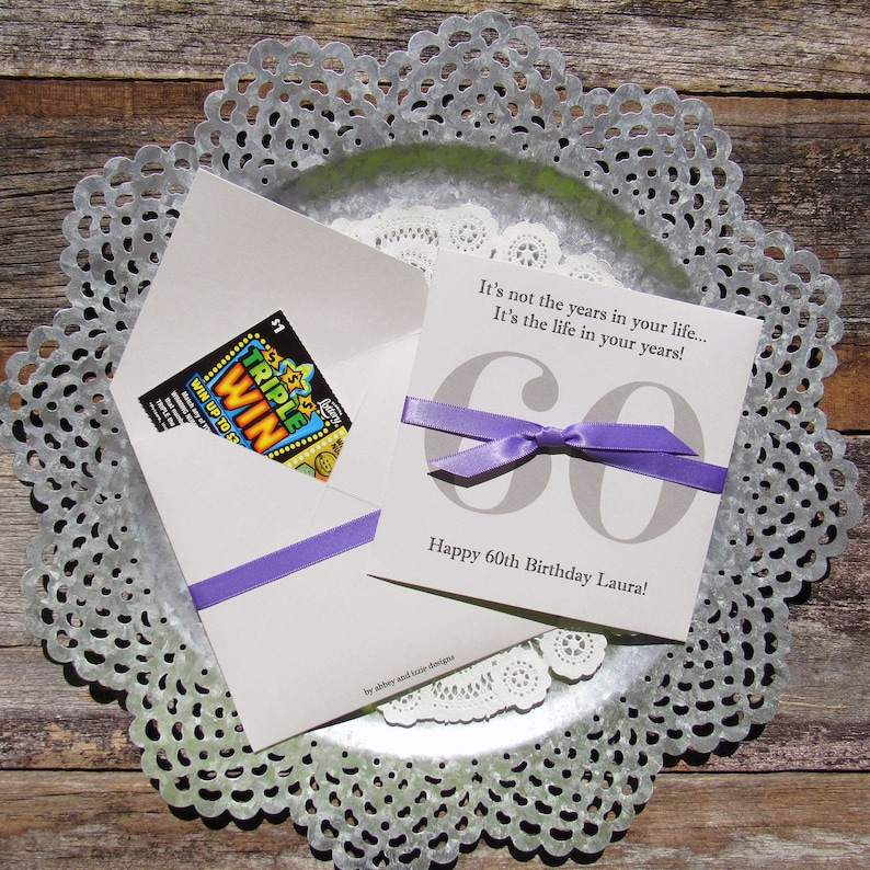 60th Birthday Party Favors Adult Favor