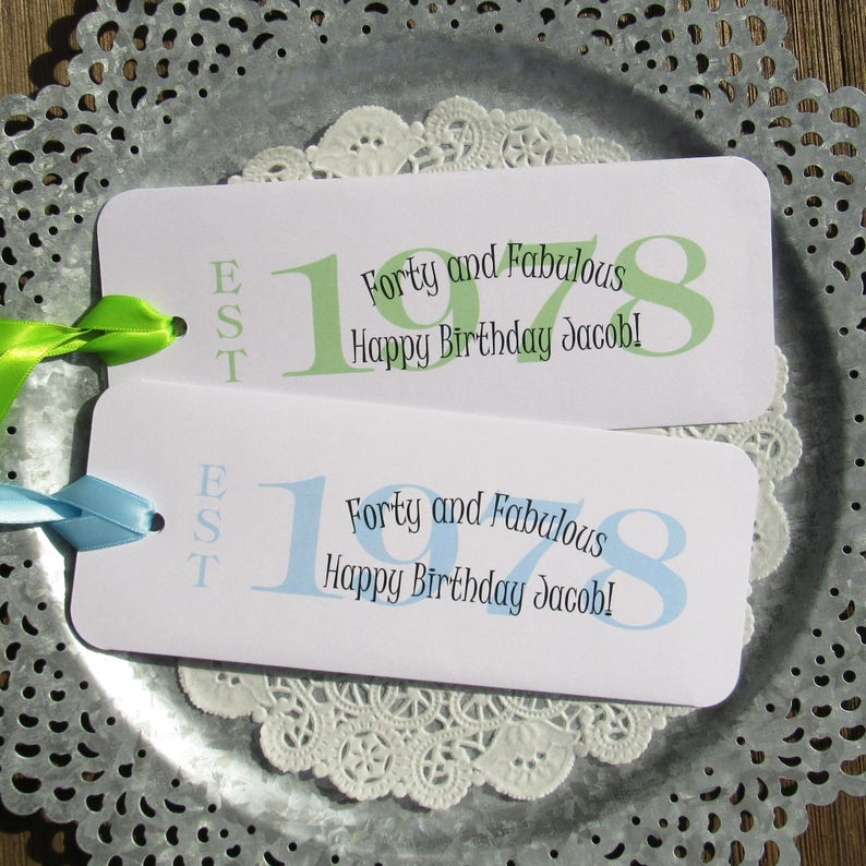 40th Party Favors