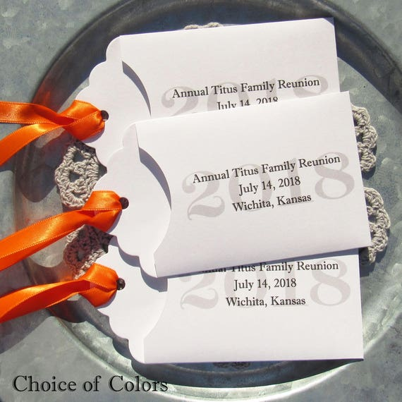 Family Reunion Favors - Lottery Ticket Favors - 2018 Favors