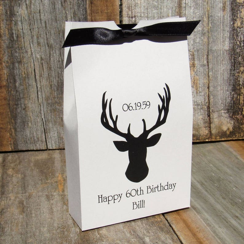 Mens Party Favors Hunting Favor Boxes Deer