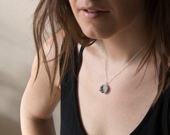 Bat Necklace - Druzy Necklace - Witchy - Animal Necklace - Dracula - Vampire Necklace - Goth Jewelry - Quartz Necklace - Crystal Necklace