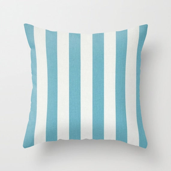 Blue Pillow Covers Beach Decor Beach Pillows Decorative Pillow Slipcover Cushion Covers