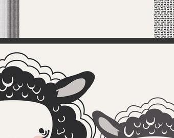 One Sheep, Two Sheep Panel