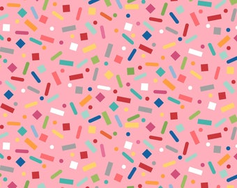 Sprinkle Sunshine Confetti & Sprinkles Fabric
