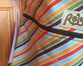 Wet Bag. Unicorn Stripe