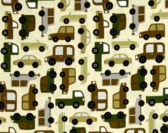 Traffic Jam Fabric by Michael Miller