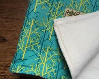 Soft Organic Cotton Baby Blanket. Twiggy