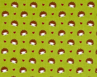 Hedgehog Heaven Fabric by Michael Miller