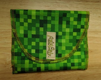 SNACK BAG. Eco-PUL Food Safe LIning.