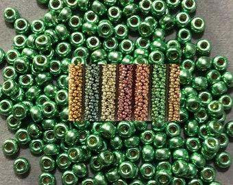 Duracoat Galvanized 6/0 beads 20 gram tube color choice