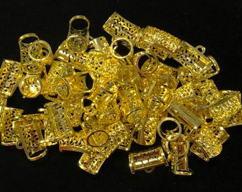 Bulk Large filigree Gold Plated Pendant Slide - approximately 175 pieces discontinued item