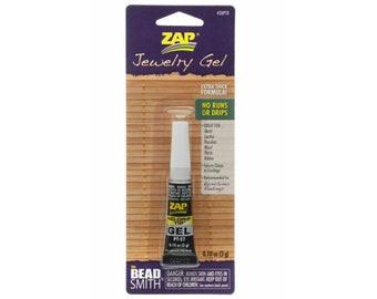 Zap Jewelry Gel .1 oz (3 g) Beadsmith instant bonding glue