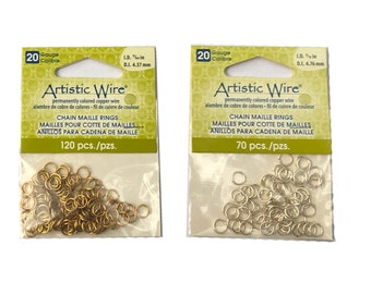 Artistic Wire® Jump Rings