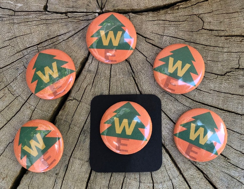 Free Shipping 6pcs Pins with Up Wilderness Explorers badge image 0