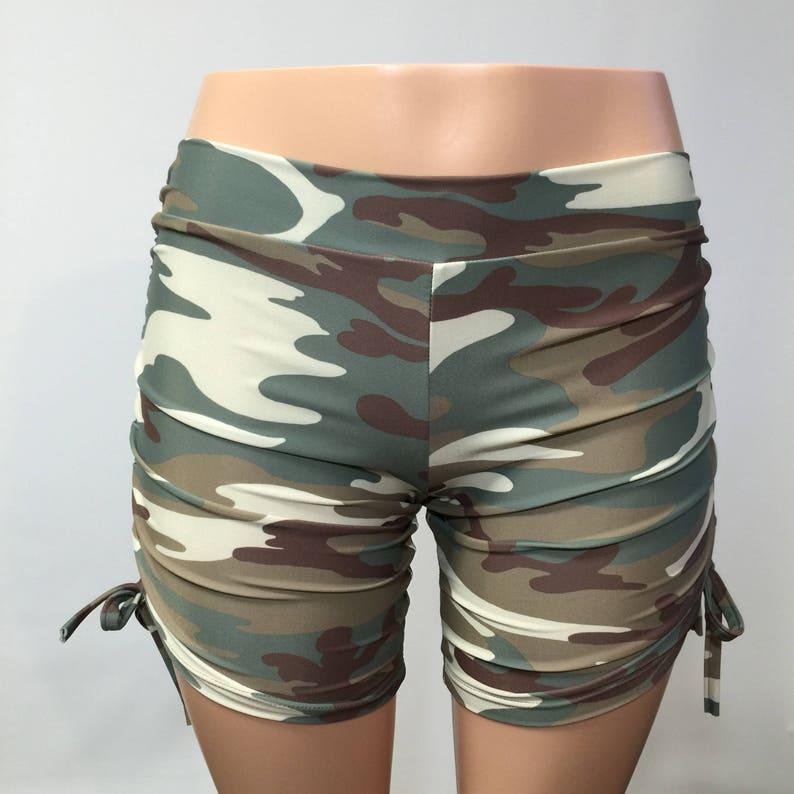 0af3ae27bc0bd Hot Yoga Shorts Cute Yoga Shorts Plus Size Workout | Etsy