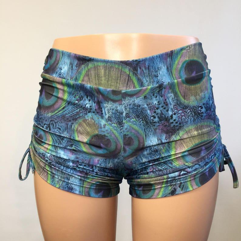 84c30302c2 Hot Yoga Shorts Cute Yoga Shorts Plus Size Workout   Etsy